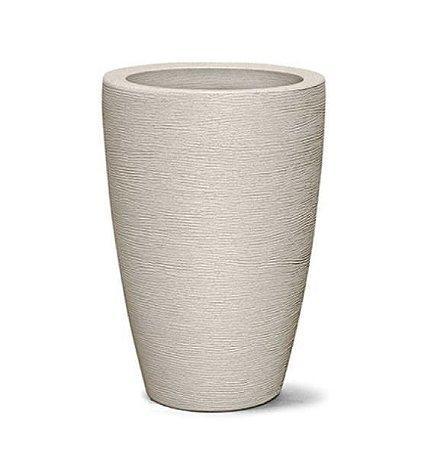 Vaso Grafiato Cônico N38  38x27 Cimento
