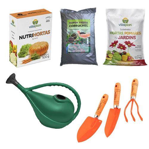 Kit para Plantio de Horta