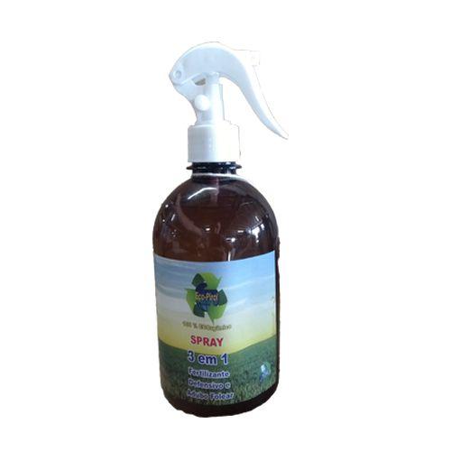 Spray Foliar EcoPirol 3x1 Fertilizante Adubo e Defensivo - 500ml