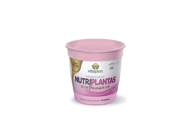 Fertlizante Nutriplantas Premium 1Kg - Ideal para  gramados, canteiros, frutíferas, flores, hortaliças e plantas ornamentais