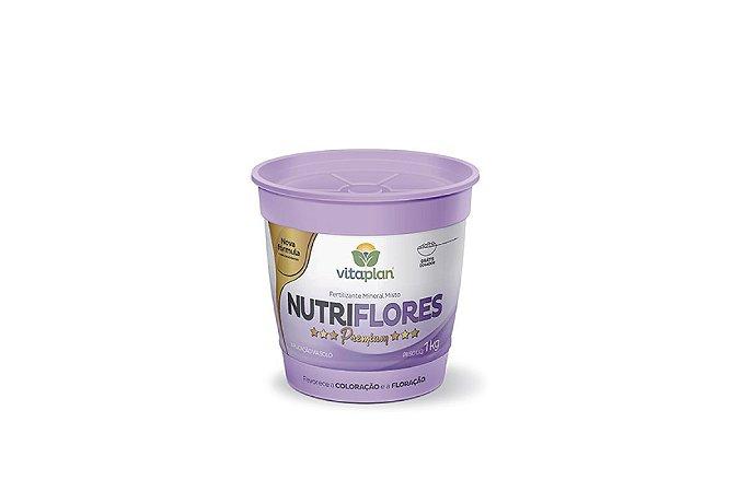 Fertilizante Nutriflores Premium 1 Kg - Fortalecimento das Flores