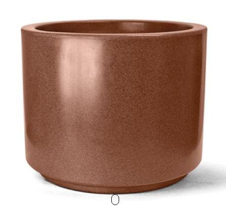 Vaso Classic Cilindrico Ferrugem  N32 32 x 40,5