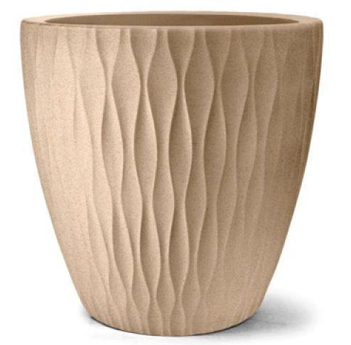 Vaso Infinity Redondo N50 Areia 50x50