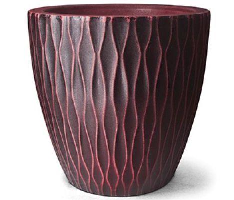 Vaso Infinity Redondo N50 Rubi 50x50