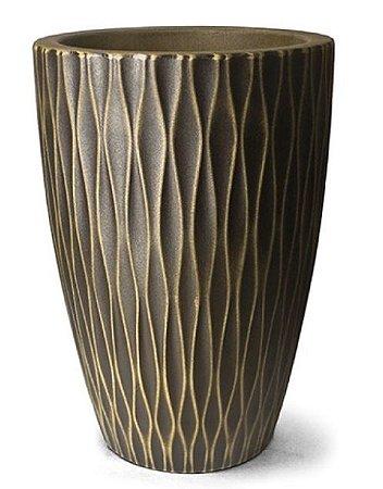 Vaso Infinity Cônico N57 Envelhecido 57x40