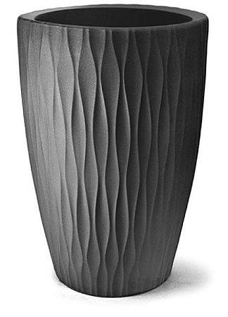 Vaso Infinity Cônico N57 Preto 57x40