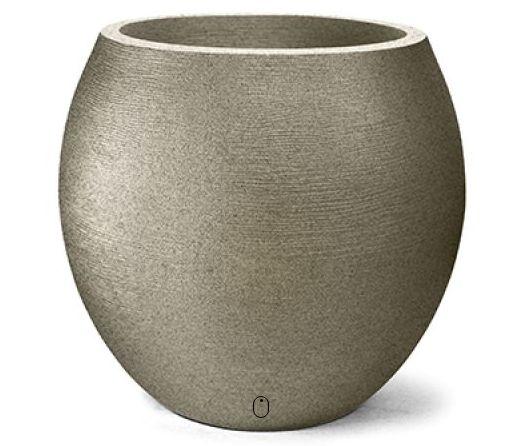 Vaso Grafiato Oval N 58 Granito 58x51