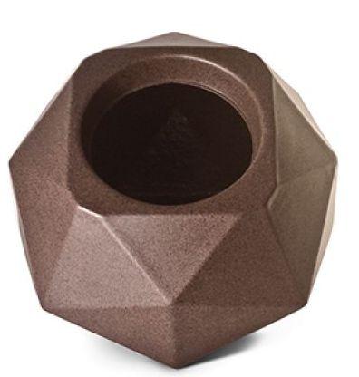 Vaso Cachepô Quartzo N16 Ferrugem Capacidade 4,75 Litros