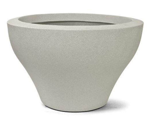 Vaso Ming Redondo N33 33x53 Cimento