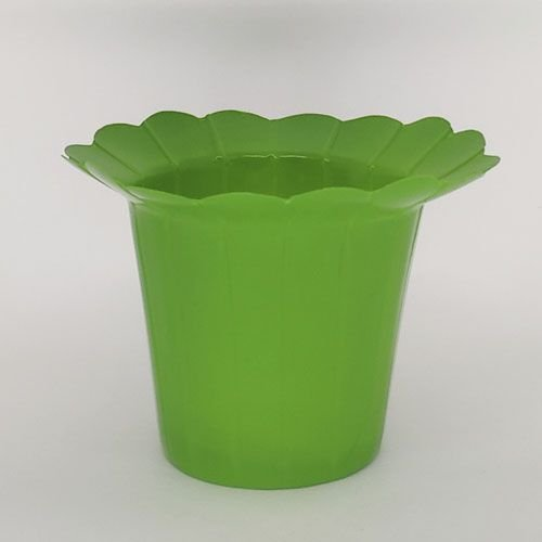 VASO PET GIRASSOL FLEXIVEL M  - VERDE  - KIT COM 10 UNIDADES