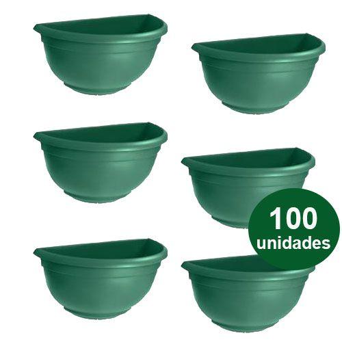 VASO DE PAREDE MINI  VERDE - 100 UND