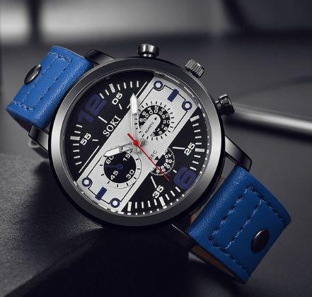 856a7df62cc Relógio Masculino Soki - Tempos Modernos