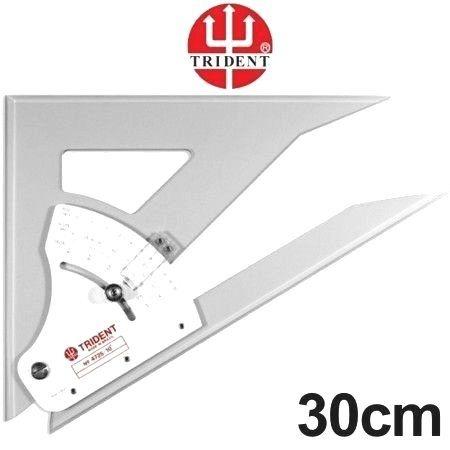 Esquadro Ajustável Trident - 30cm