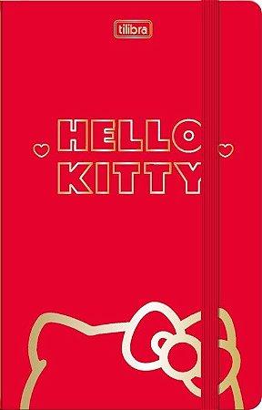 Caderneta Costurada Fitto Hello Kitty Sem Pauta 80fls- Tilibra