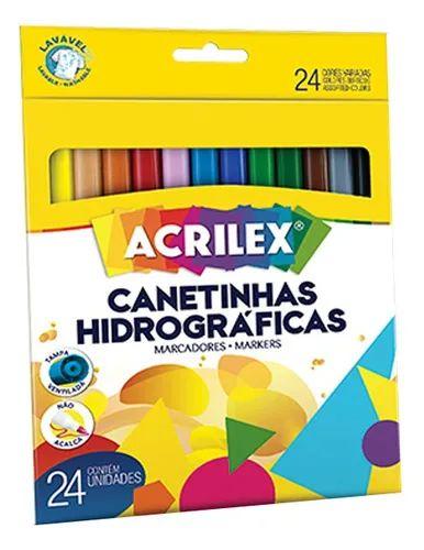 CANETINHA HIDROGRAFICA C/24