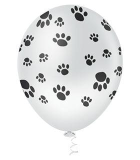 Balão Patinhas Branco | 4 unidades