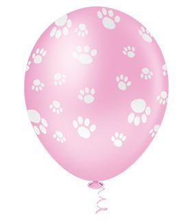 Balão Patinhas Rosa| 4 unidades