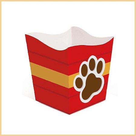 Cachepot Cachorrinhos | vermelho | 2 unidades