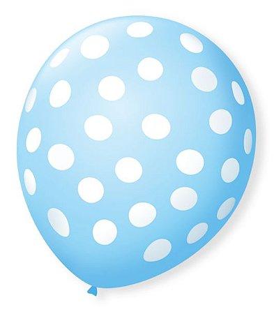 Balão Azul | 4 unidades