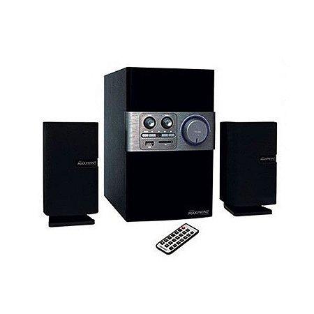 CAIXA SOM SUBWOOFER ( 50W)(PRETO)(USB/FM/SD)(MAXPRINT)609065