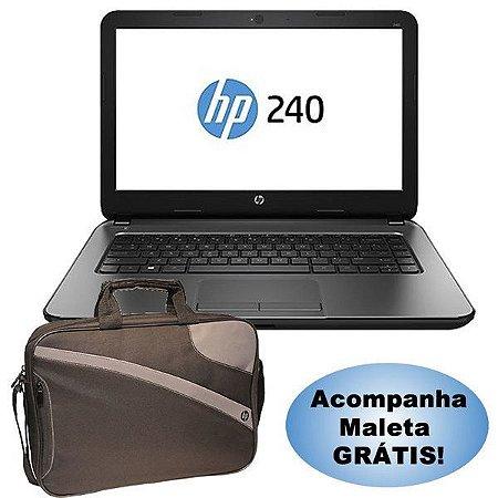 NOTEBOOK (CORE I3-4005U) (HD500,4GB,M14,WIN10) (HP 240 G4)