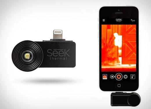 Câmera Térmica Compacta, para Android ou iOS