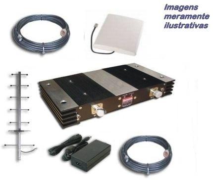 Kit Repetidor Celular para até 2000 m²*
