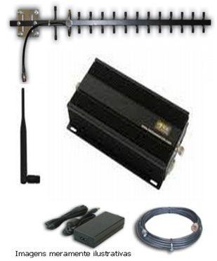 Kit Repetidor Celular:  Alcance até 50 m*