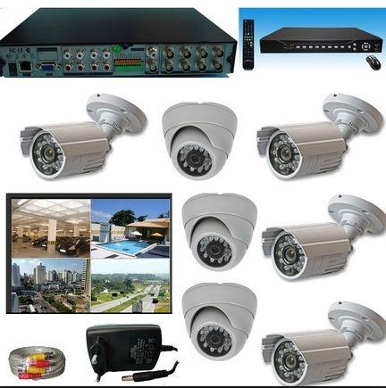 Projeto & Instalação Câmeras Segurança