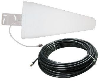 Antena Log Periódica 800 ~ 2500 MHz