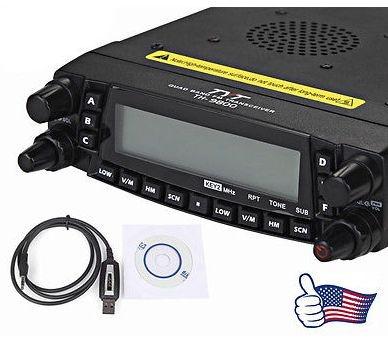 Rádio TYT TH-9800 Plus 50W Quad Band, Dual Display, Repeater....