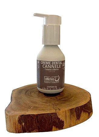 Creme Dental Natural Cannelle uNeVie   * pré-venda * no vidro sem flúor *