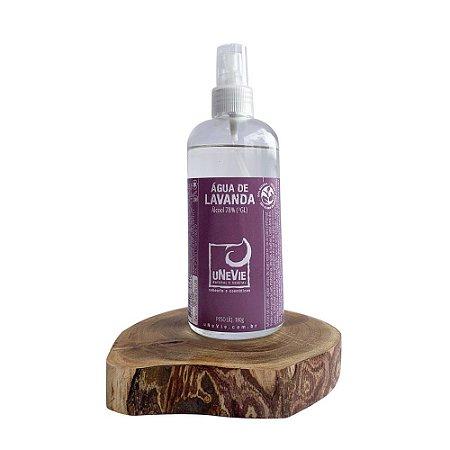 Água de Lavanda - Álcool 70%(°GL) 219ml com Spray *no vidro