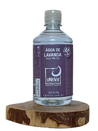 Água de Lavanda - Refil - Álcool 78%(°GL) 500ml com FlipTop
