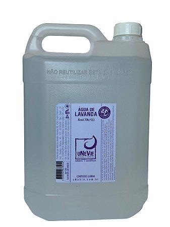 Água de Lavanda - Refil 5.000ml - Álcool 78%(°GL)