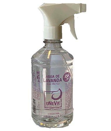 Água de Lavanda 500ml - Álcool 70%(°GL) com Gatilho