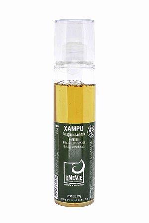 Xampu Líquido Petitgrain, Lavanda e Vanila uNeVie - cabelos mistos (hidratação moderada) - OUTLET