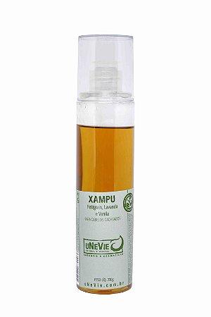 Xampu Líquido Petitgrain, Lavanda e Vanila uNeVie - cabelos cacheados