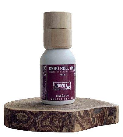 Desodorante Natural Roll On Rosas uNeVie