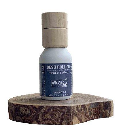 Desodorante Natural Roll On Verbena e Blueberry uNeVie