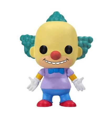FIGURA POP! KRUSTY SIMPSONS FUNKO