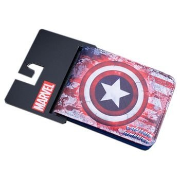 Carteira Marvel - Capitão América
