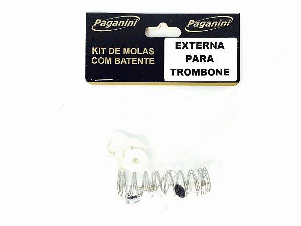 Paganini Kit De Molas Para Trombone PMS082 Pistos Internas