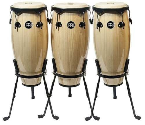 Meinl Trio Congas 10 11 12 Mc50nt Natural Basket Stand
