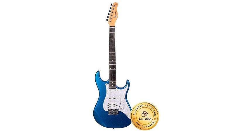 Tagima Guitarra Stratocaster Woodstock Metalic Blue TG520MBL