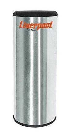 Liverpool Ganzá Cilíndrico Polido 90mm GC090