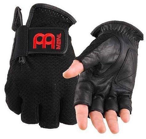 Meinl Drummer Gloves Large Black Mdgfl-xl Luvas P/baterista
