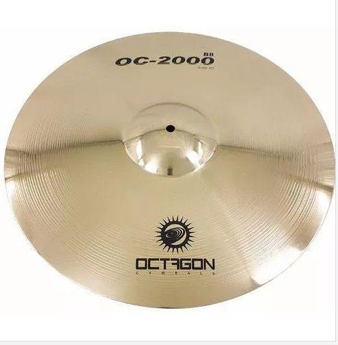 Octagon Ride 20 Polegadas - OC 2000 OC20RD Prato Para Bateria