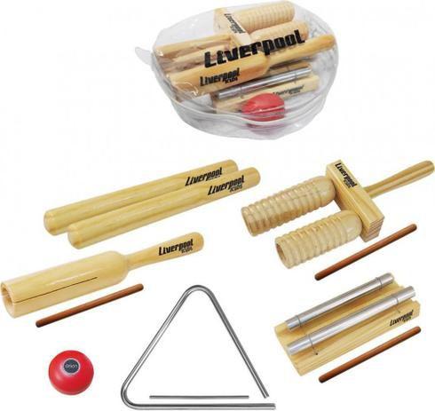 Liverpool Kit Musicalização Infantil 6 Itens KIT-INF01