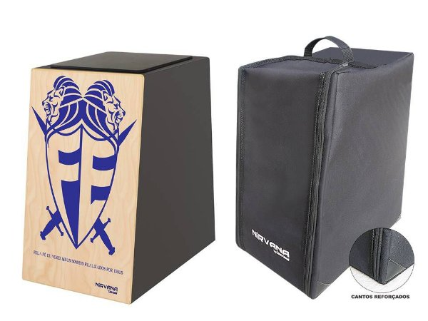 Liverpool Cajon Nirvana  Estampa Escudo mais  Bag - CANL02